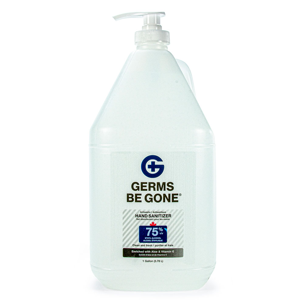 Germs be Gone pump sanitizer