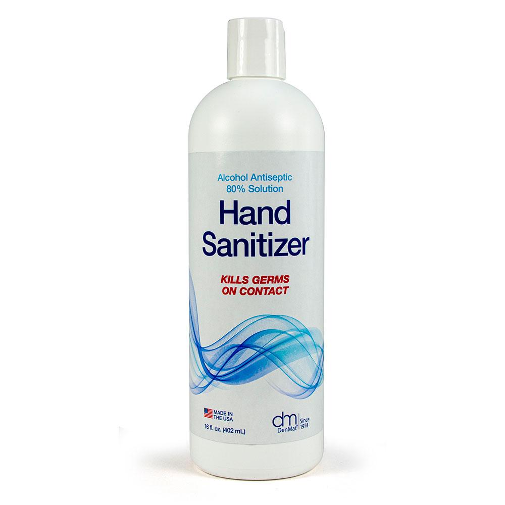 Antiseptic Hand Sanitizer - 80% Ethyl Alcohol