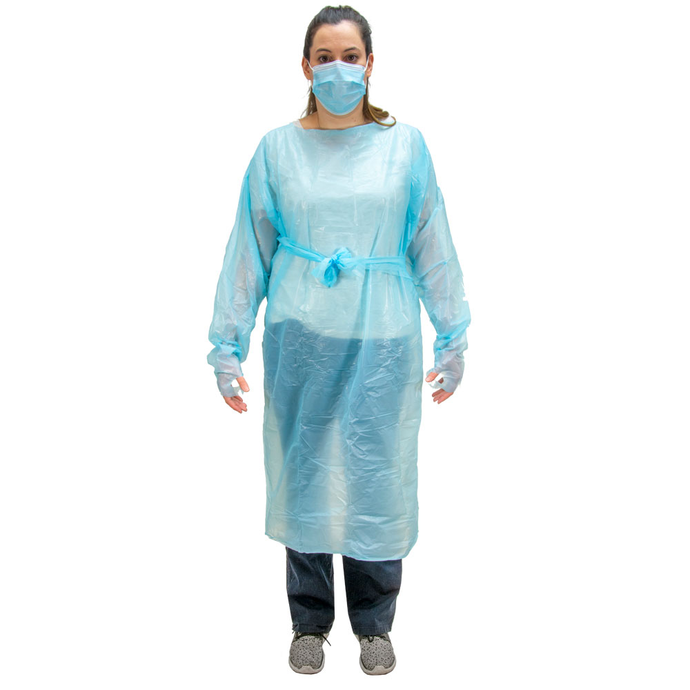 Level 2 Long Sleeve Isolation Gown - 10/Pack