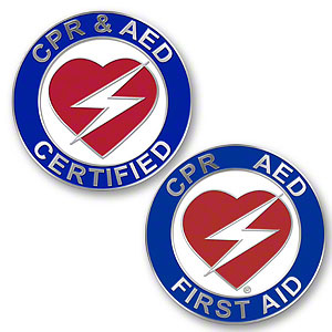CPR / AED Pins