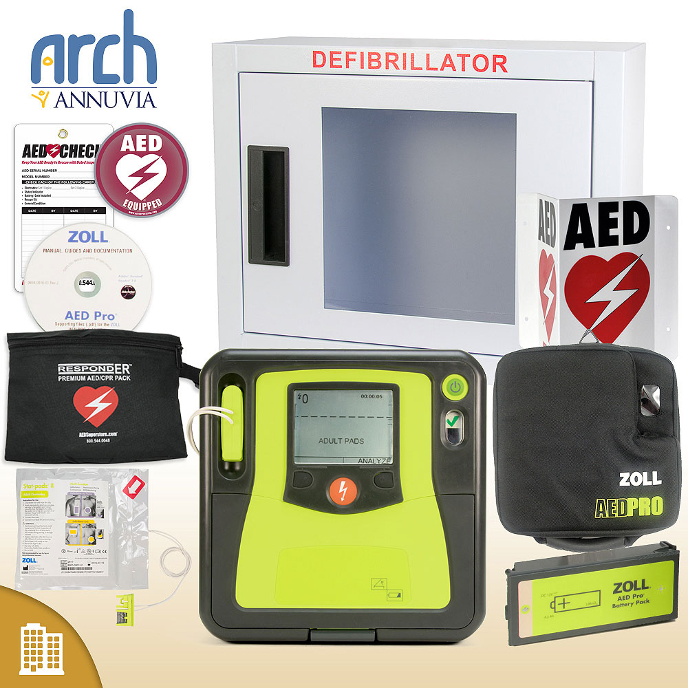 ZOLL AED PRO Corporate Value Package