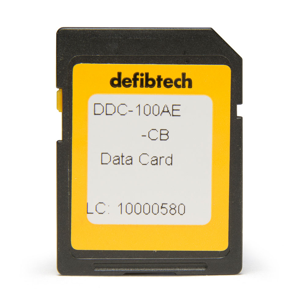 Defibtech Lifeline™ or Lifeline AUTO AED Data Card w/Audio Recording - High Capacity