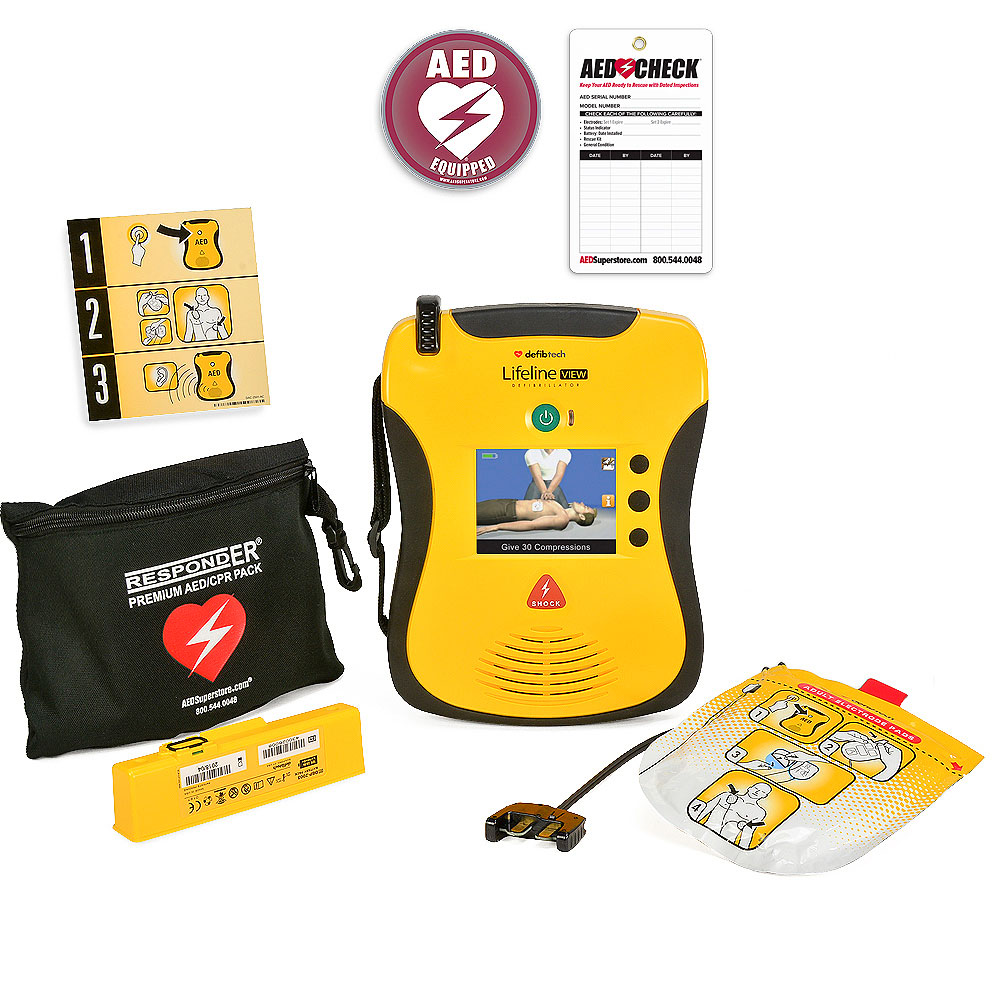 Defibtech Lifeline VIEW / ECG AEDs