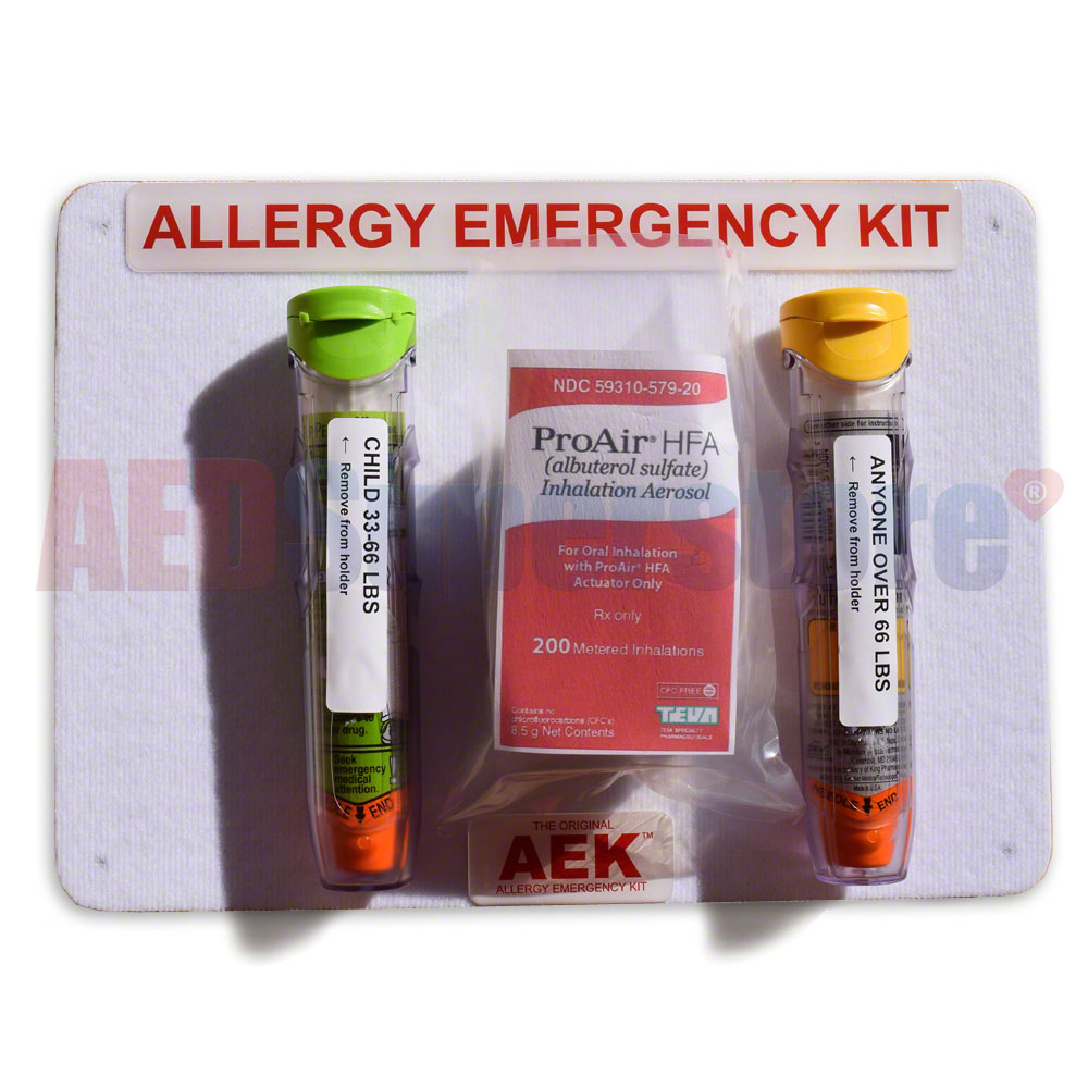 Allergy Emergency Kit™ Home/Classroom Emergency Panel