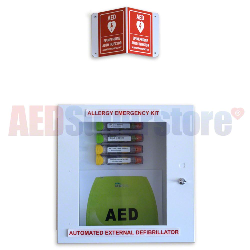 Allergy Emergency Kit Aed Allergy Emergency Cabinet En9392