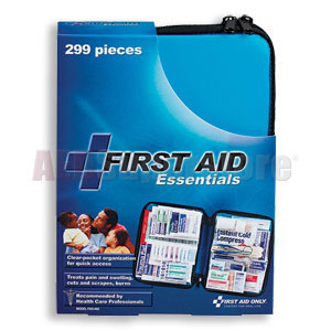 FAO All Purpose 299 Piece First Aid Kit, w/Large Soft-sided Case