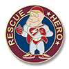Rescue Hero Award Pin - 1