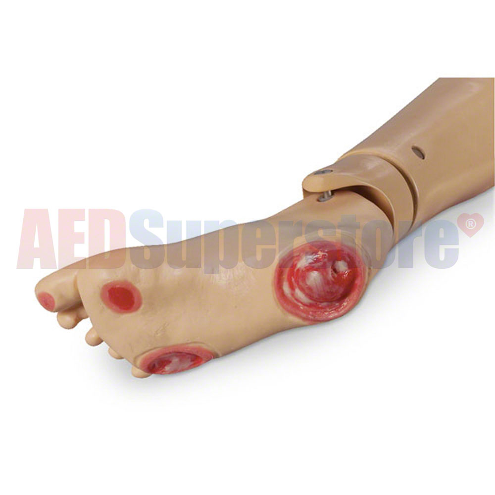 Life/form® GERi™/KERi™ Optional Pressure Ulcer Foot