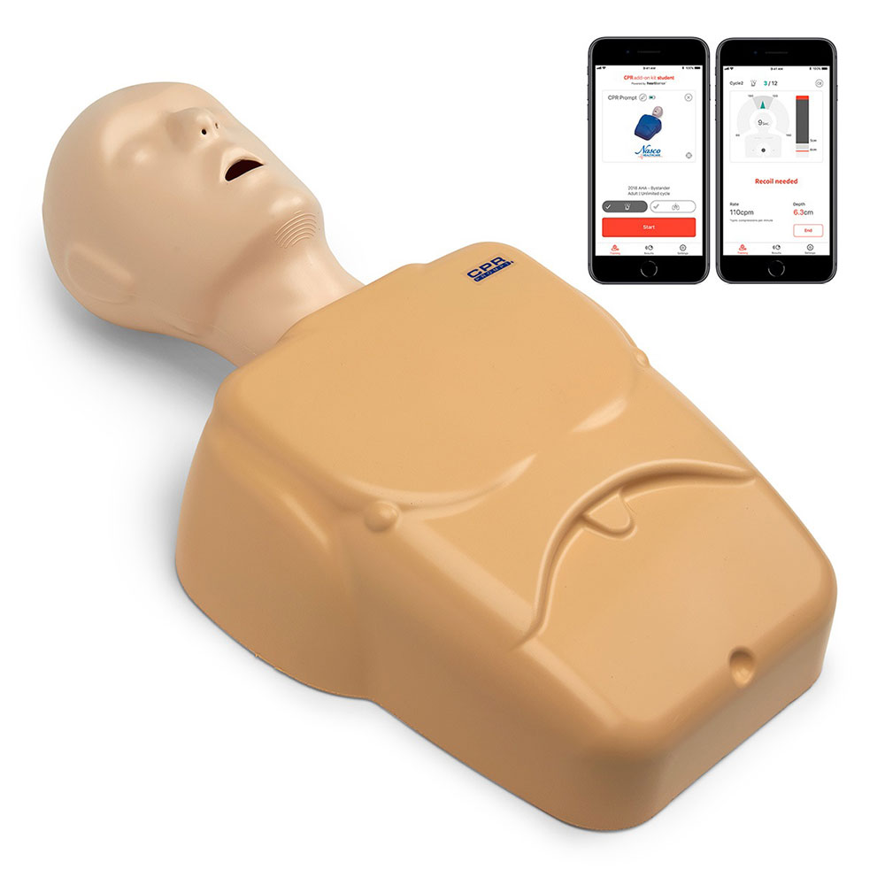 CPR Prompt® Plus Adult/Child Manikin Powered by Heartisense® - TAN