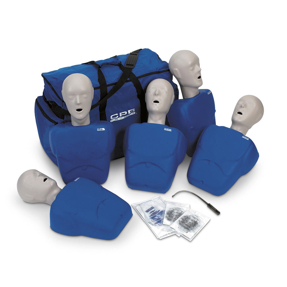 CPR Prompt® Adult/Child 5-Pack BLUE