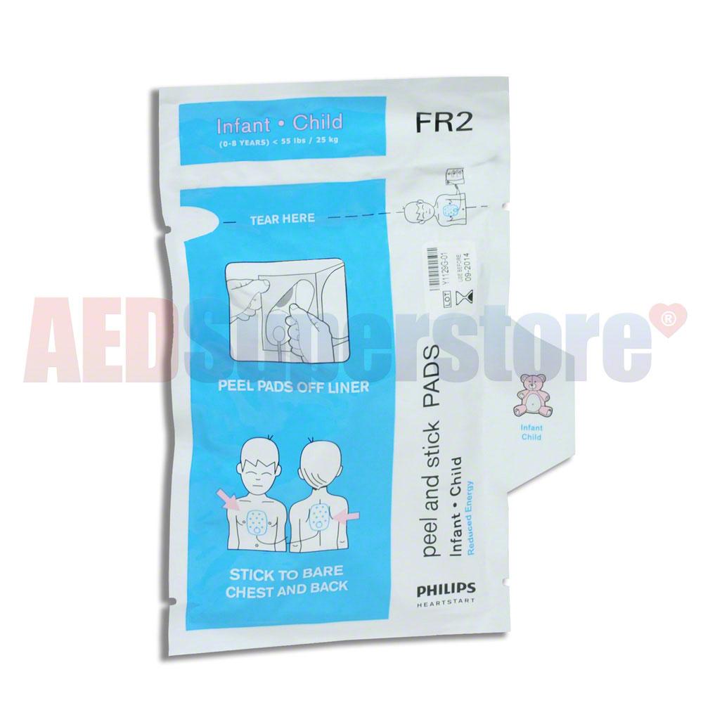 Philips Fr2 Fr2 Infant Child Electrode Pads Aed