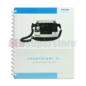 manual user guide english for philips heartstart xl monitor  defibrillators aed superstore