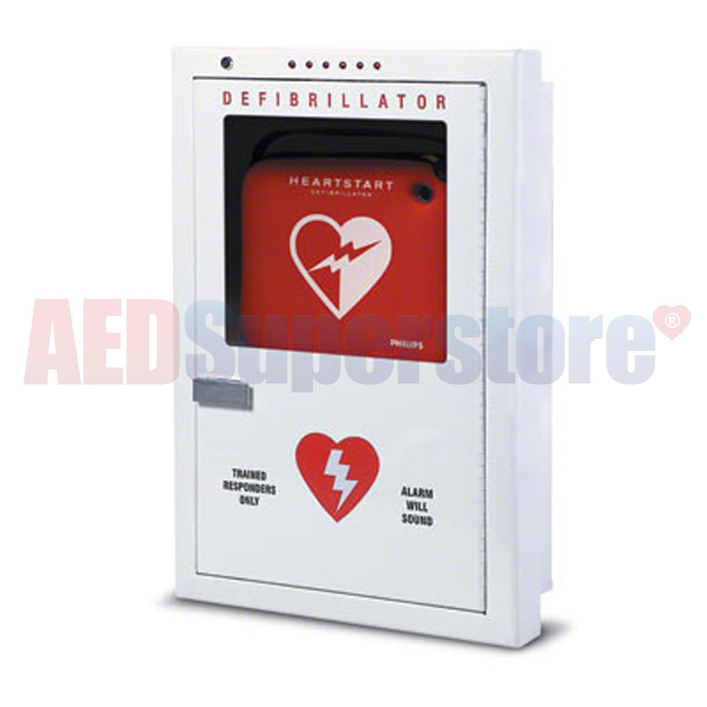 Philips Aed Cabinet Semi Recessed Mount Aed Superstore