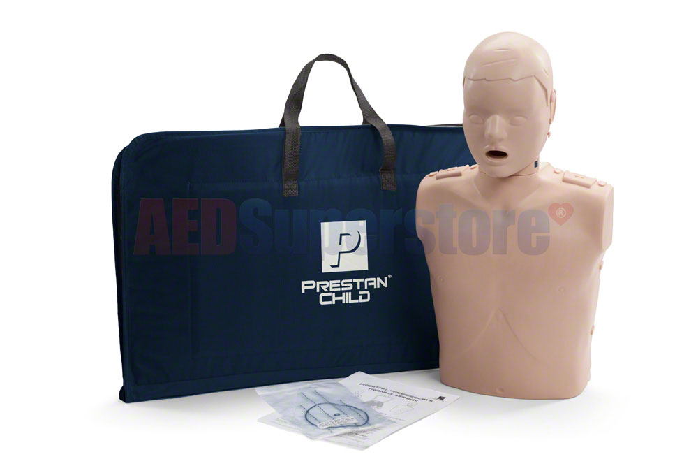 Prestan Child Medium Skin Manikin Single without CPR Monitor