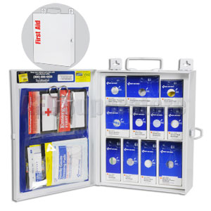 Smart Compliance General Business Kit w/Medium Metal Cabinet