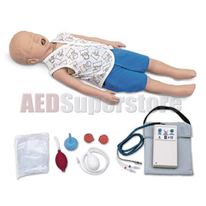 Simulaids CPR Timmy 3-Year Old Basic w/Carry Bag w/Electronics