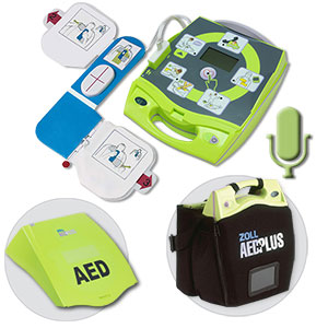 ZOLL® AED Plus® Package w/Voice Recording