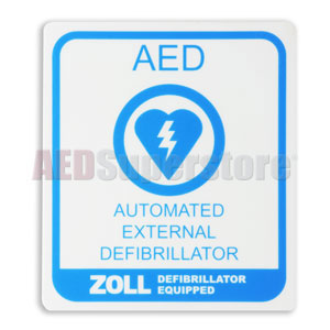 ZOLL® Medical AED Decal