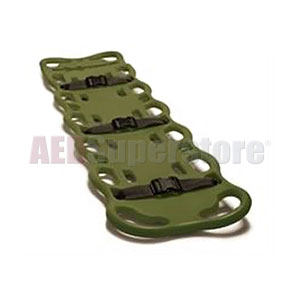 BaXstrap Spineboard-Olive Green