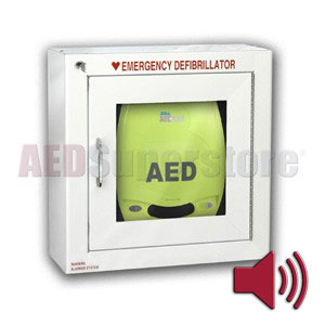ZOLL® AED Plus® Standard Size Cabinet with Audible Alarm - AED ...