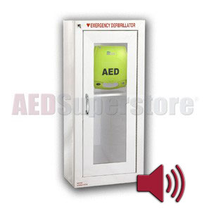 ZOLL® AED Plus® Tall Cabinet with Audible Alarm