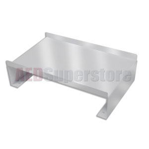 AED Riser Bracket in Stainless Steel for AED Wall Cabinet (Surface Mount)