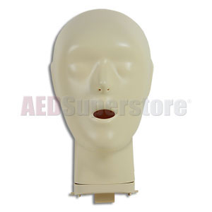 CPR Prompt® Extra Adult/Child Manikin Head for TAN