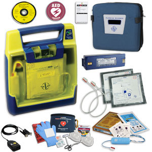Cardiac Science Powerheart AED G3 Pro Aviation Value Package