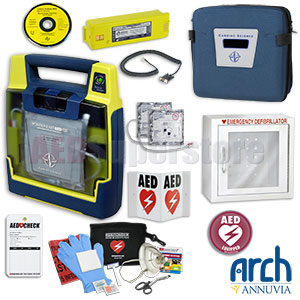 Cardiac Science Powerheart AED G3 Plus Complete Value Package