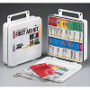 FAO Trucker's First Aid Kit - 24 Unit, 128 Piece Kit, Plastic Case w/Gasket