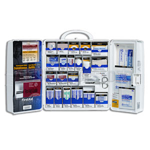 Smart Compliance Food Service Kit w/, Large Plastic Cabinet (Non-Meds)