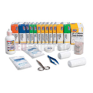 FAO Bulk First Aid Kit Refill for 225-U, 226-U