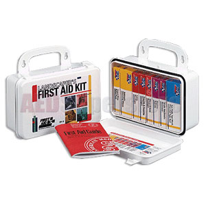 FAO Landscaper's First Aid Kit - 10 Unit, 94 Piece Kit, w/Plastic Case