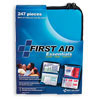 FAO Economy Outdoor 247 Piece First Aid Kit, w/Durable Clear-Pocket Soft Case