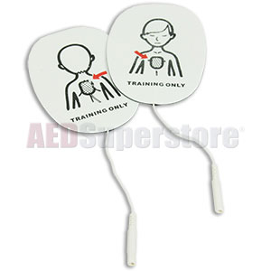 Child Training Pads for the AED Practi-TRAINER® by WNL Products