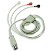 Replacement 3-lead ECG Patient Cable, 6 foot for ZOLL M Series Defibrillators