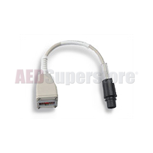 GE/Marquette Monitor to ZOLL M Series CCT Defibrillator Adapter Cable