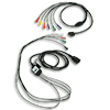 1 Step Patient Cable for 12-lead ECG w/Limb Leads & V Leads for ZOLL E & M Series Defibrillators