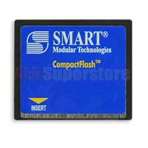 128 MB Compact Flash Data Card for ZOLL R Series Defibrillators
