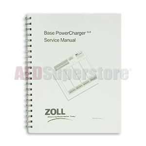 ZOLL Base PowerCharger 4x4, Service Manual