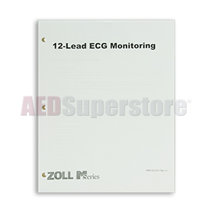 12-lead Operator's Guide Insert for ZOLL M Series Defibrillators
