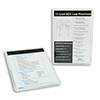 12 Lead Pocket Reference Cards (package of 25) for ZOLL E & M Series Defibrillators