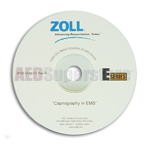 Capnography in EMS Training CD for ZOLL E Series Defibrillators