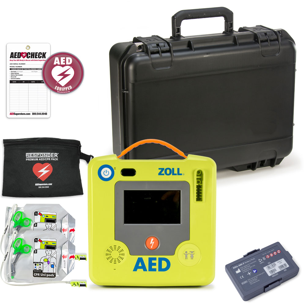 ZOLL AED 3 BLS Mobile Responder Value Package
