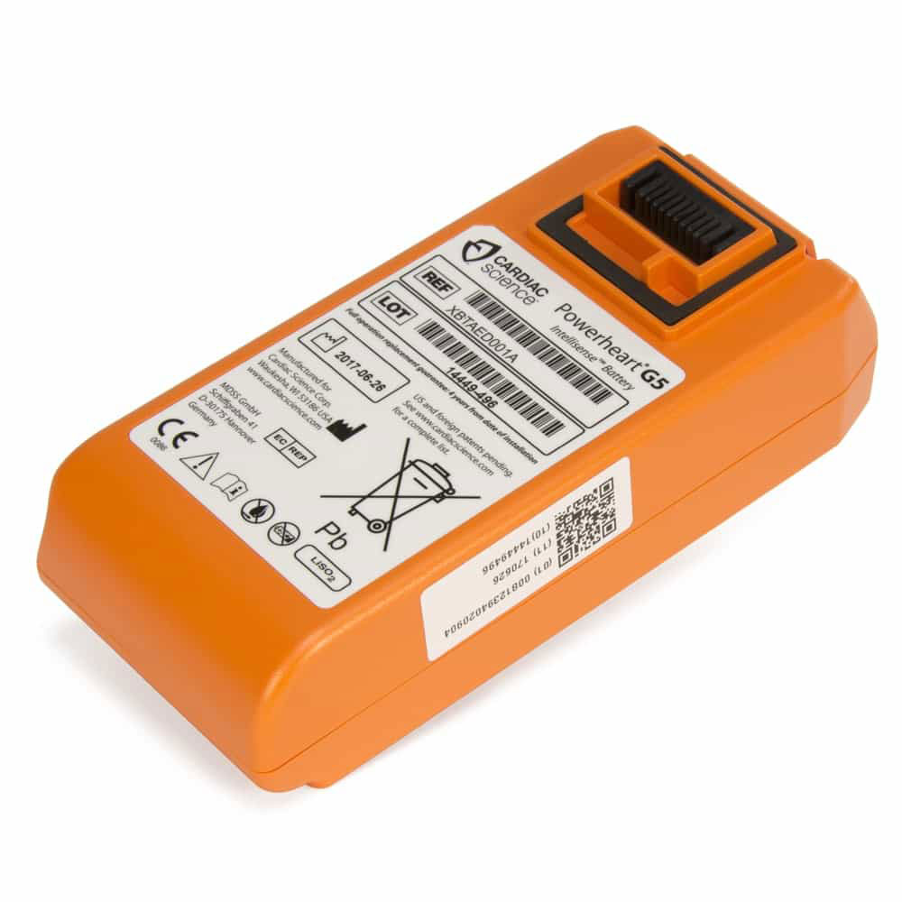 Cardiac Science Powerheart® AED G5 Intellisense Battery