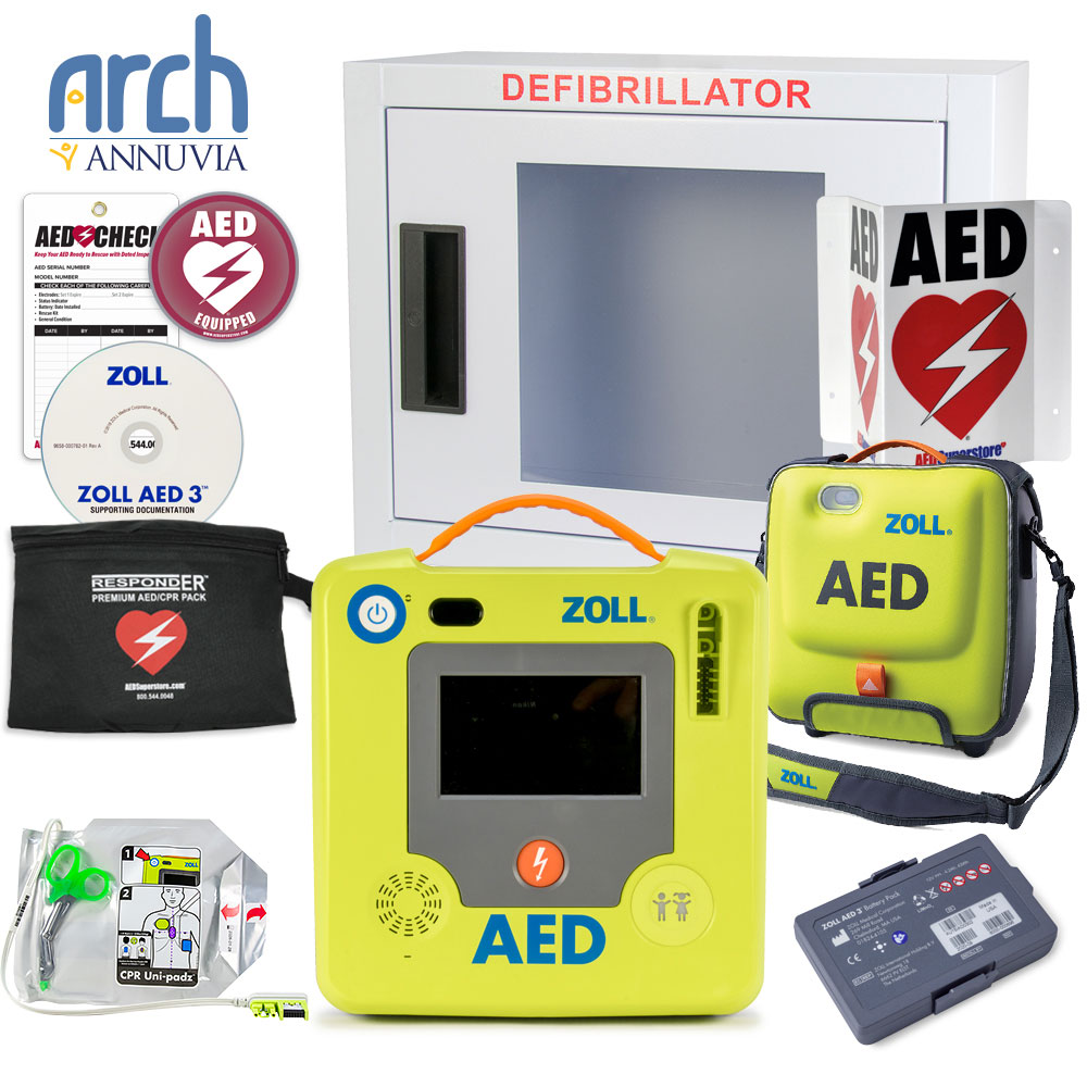 ZOLL® AED 3 BLS Complete Value Package