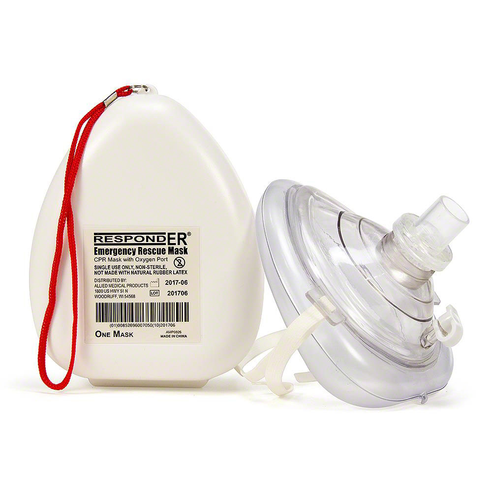 RespondER® CPR Mask w/ Hard Case