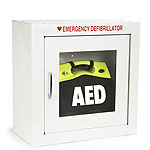 Deep Standard Size AED Cabinet with 9