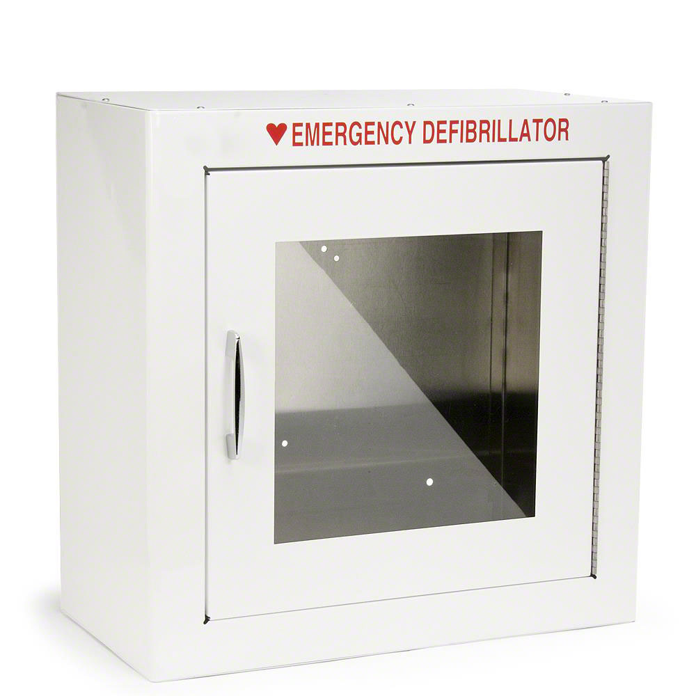 Standard Size AED Cabinet with 9