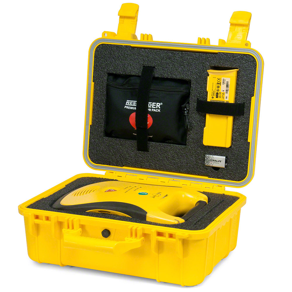 Shok Box® Watertight Hard Carry Case for the Defibtech Lifeline™ or Lifeline AUTO AED